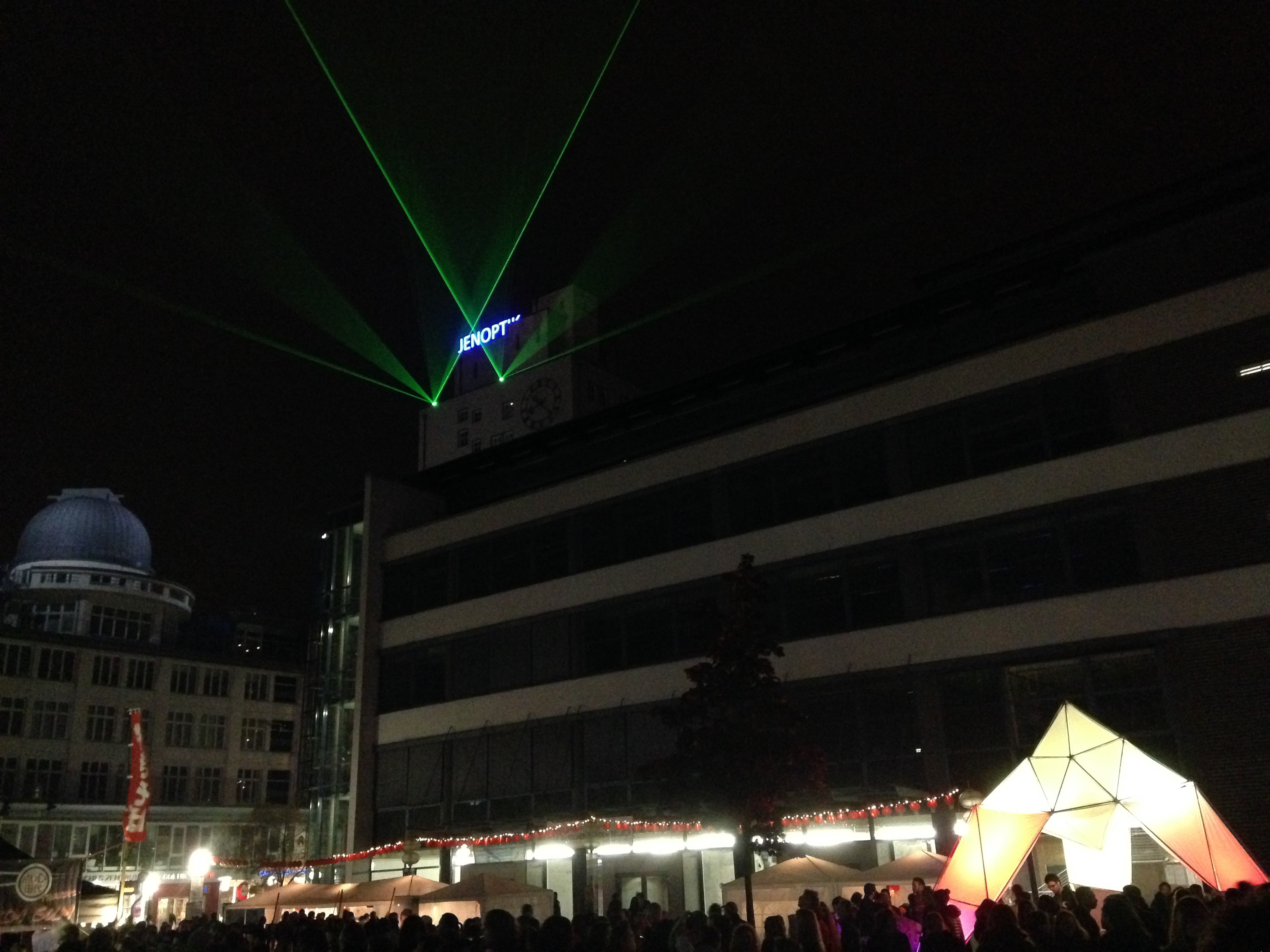 Light Catchers at City Visions Festival in Jena